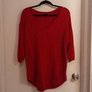 Torrid red sweater